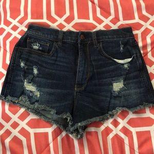 Hollister Vintage High Waisted Shorts